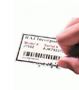 Kırılgan Güvenlik Etiket